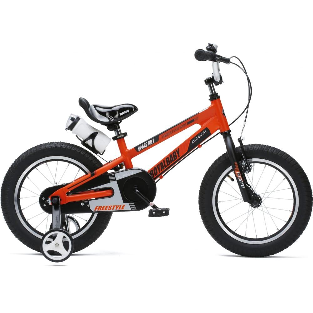 Купить Велосипед royal baby freestyle space №1 18 , алюминиевая рама rb18-17 оранж