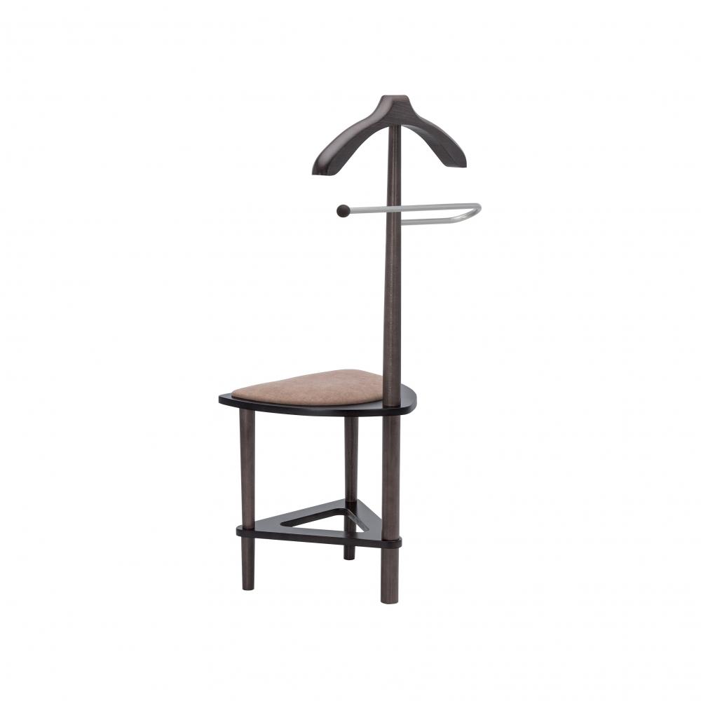Купить Вешалка со стулом leset атланта, венге 92393