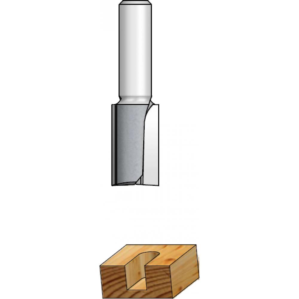 Фреза пазовая (30х32 мм; z2; хвостовик