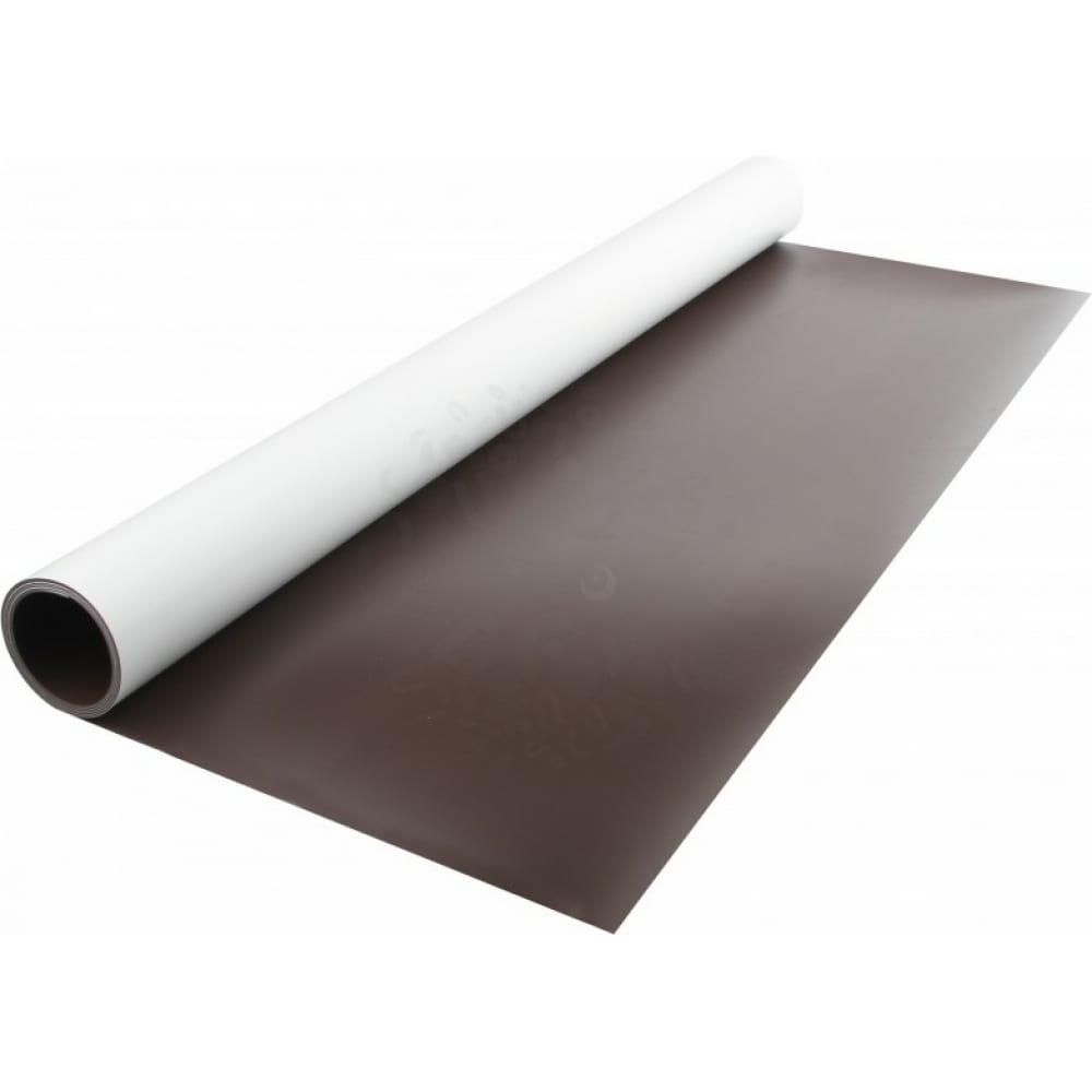 Купить Магнитный винил с пвх слоем forceberg 0.62 x 1 м, толщина 0.7 мм, рул 9-3072096