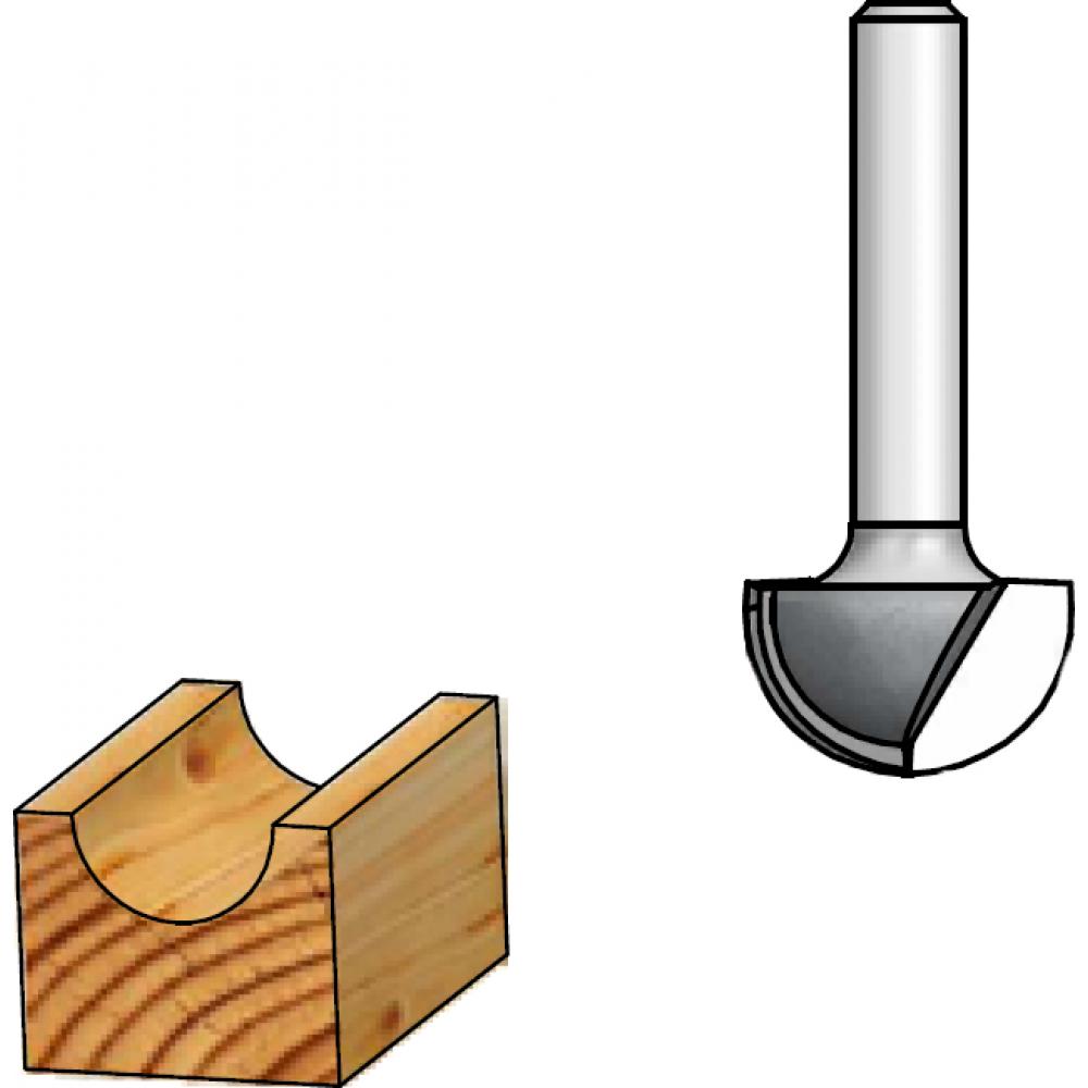 Фреза галтель r4 (8х6 мм; хвостовик