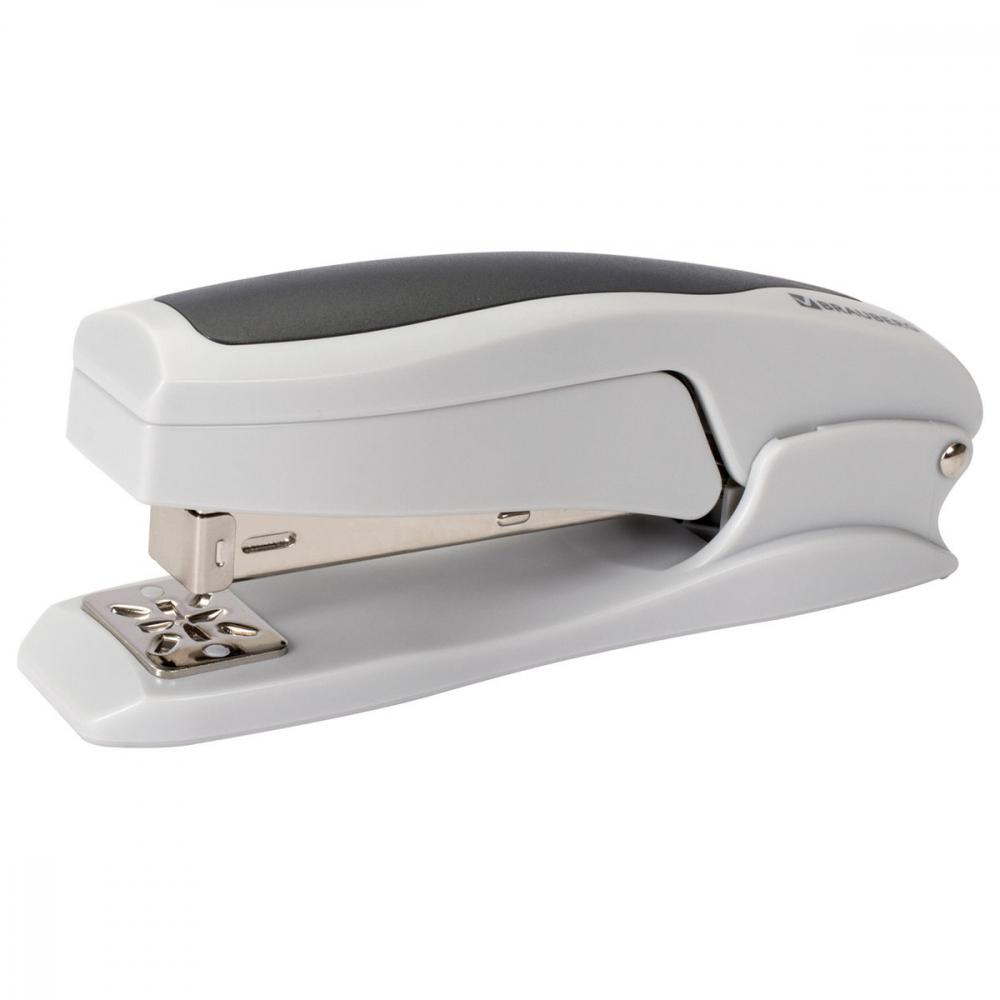 Купить Серо-черный степлер brauberg №24/6, 26/6 kombi 226805