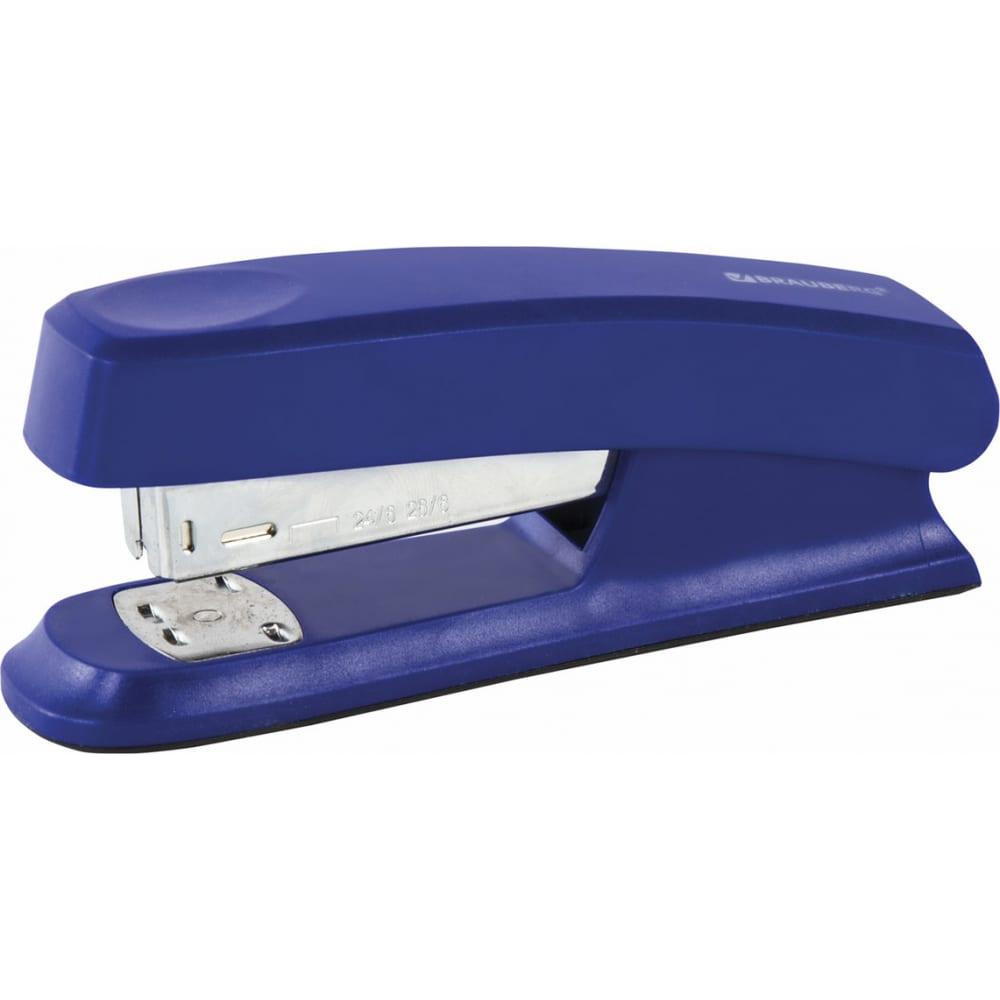 Купить Степлер brauberg №24/6, 26/6 option синий 226852