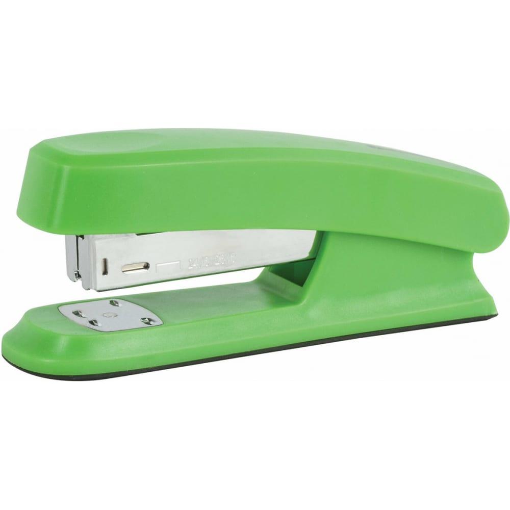 Купить Зеленый степлер brauberg №24/6, 26/6 option 226853