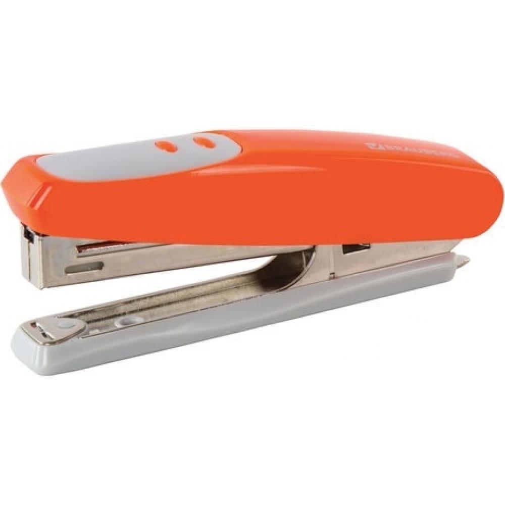 Купить Оранжевый степлер brauberg №10 germanium 226566
