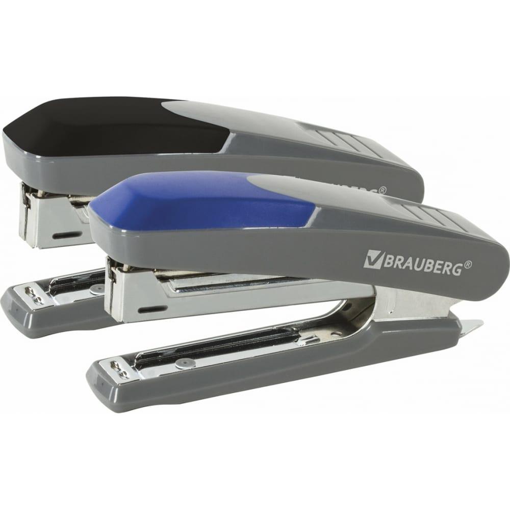 Купить Серый степлер brauberg №10 quantis 222553