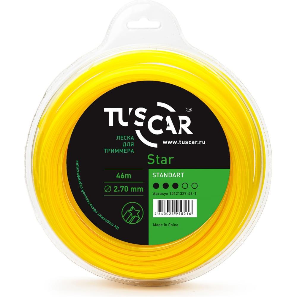 Купить Леска для триммера star, standart, 2.7 мм, 46 м tuscar 10121327-46-1
