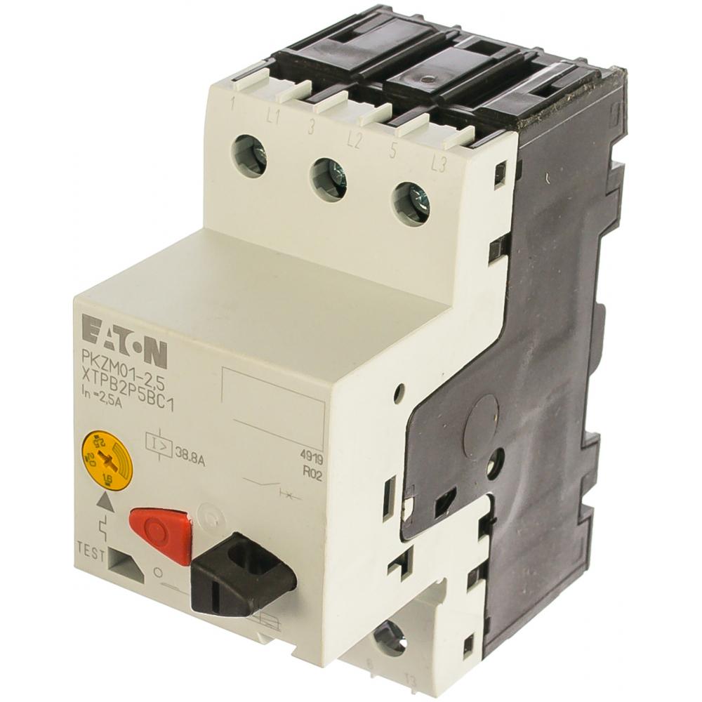 Автоматический выключатель защиты двигателя eaton pkzm0-2.5 072736