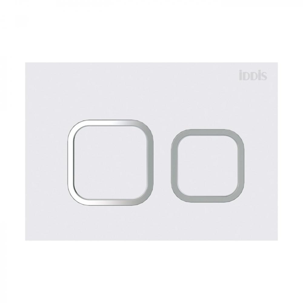 Купить Универсальная клавиша смыва iddis матовый белый unifix 040 uni40mwi77