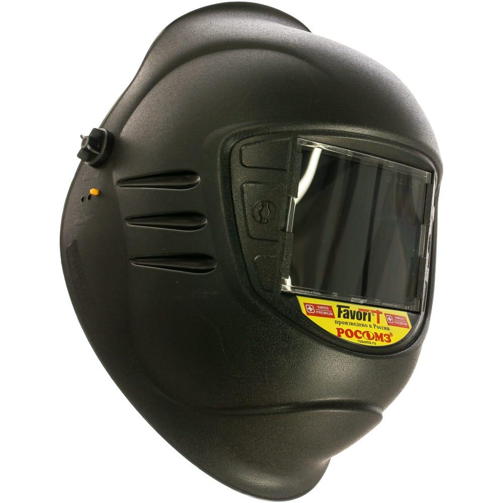 Защитный лицевой щиток сварщика росомз rz75 biot