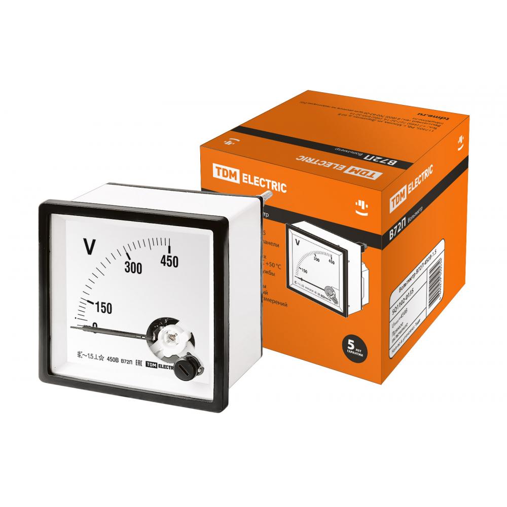 Вольтметр tdm в72п 450в-1.5 sq1102-0135