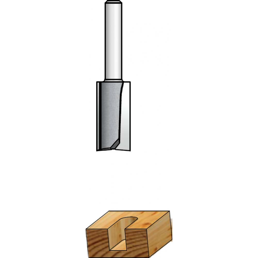 Фреза пазовая (18х32х73 мм; z2; хвостовик