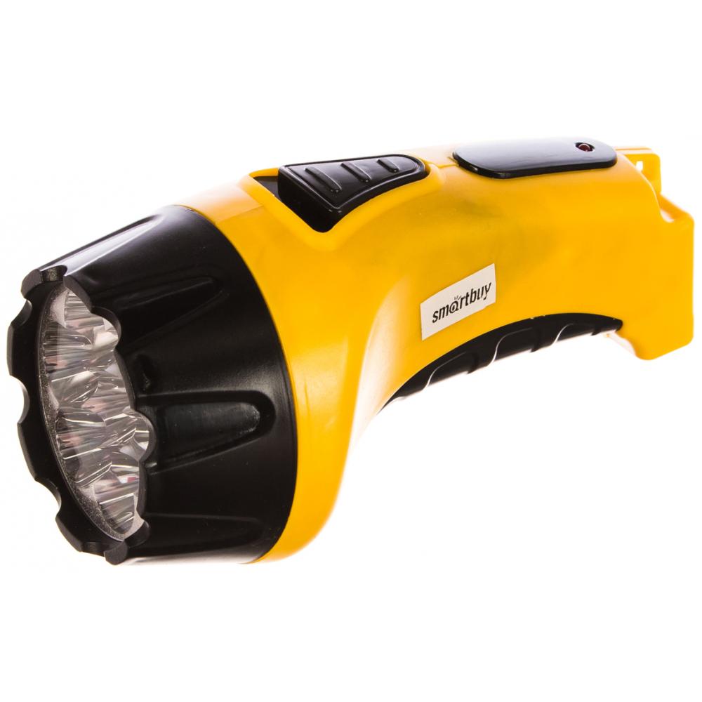 Купить Аккумуляторный светодиодный фонарь smartbuy 7 led с прямой зарядкой, желтый sbf-86-y