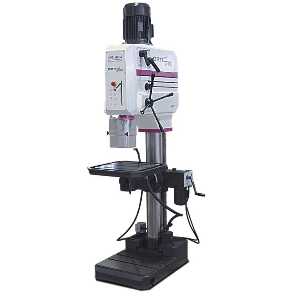 Вертикальный сверлильный станок optimum optidrill dh55g 3034265