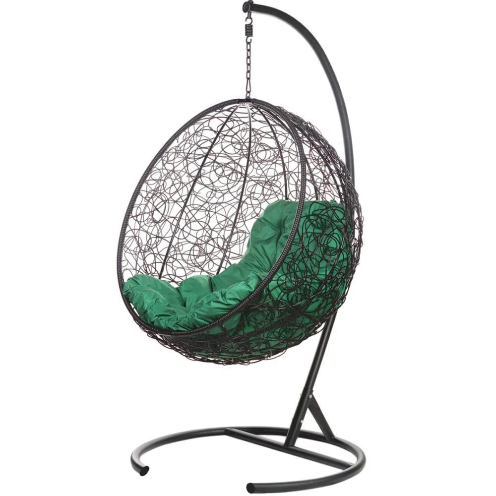 Купить Подвесное кресло bigarden, зеленая подушка kokosblackg