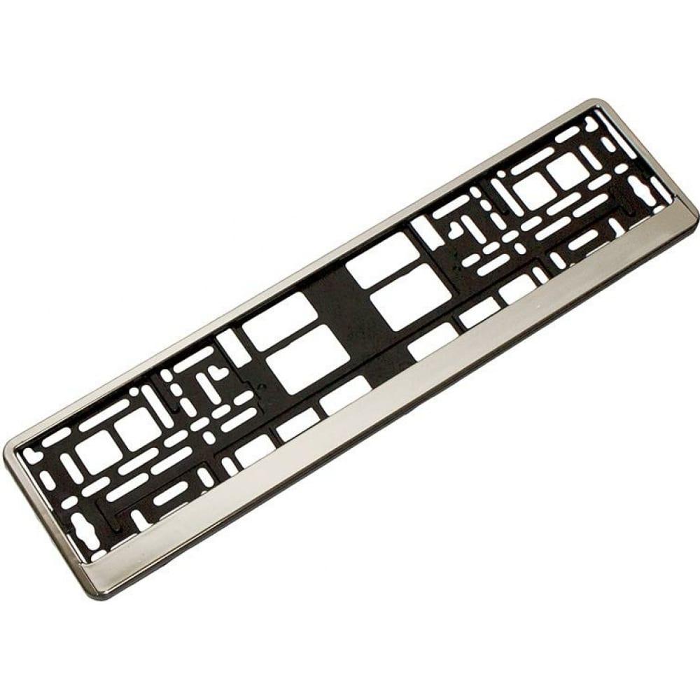 Купить Пластмассовая рамка номерного знака хром dollex spl-17