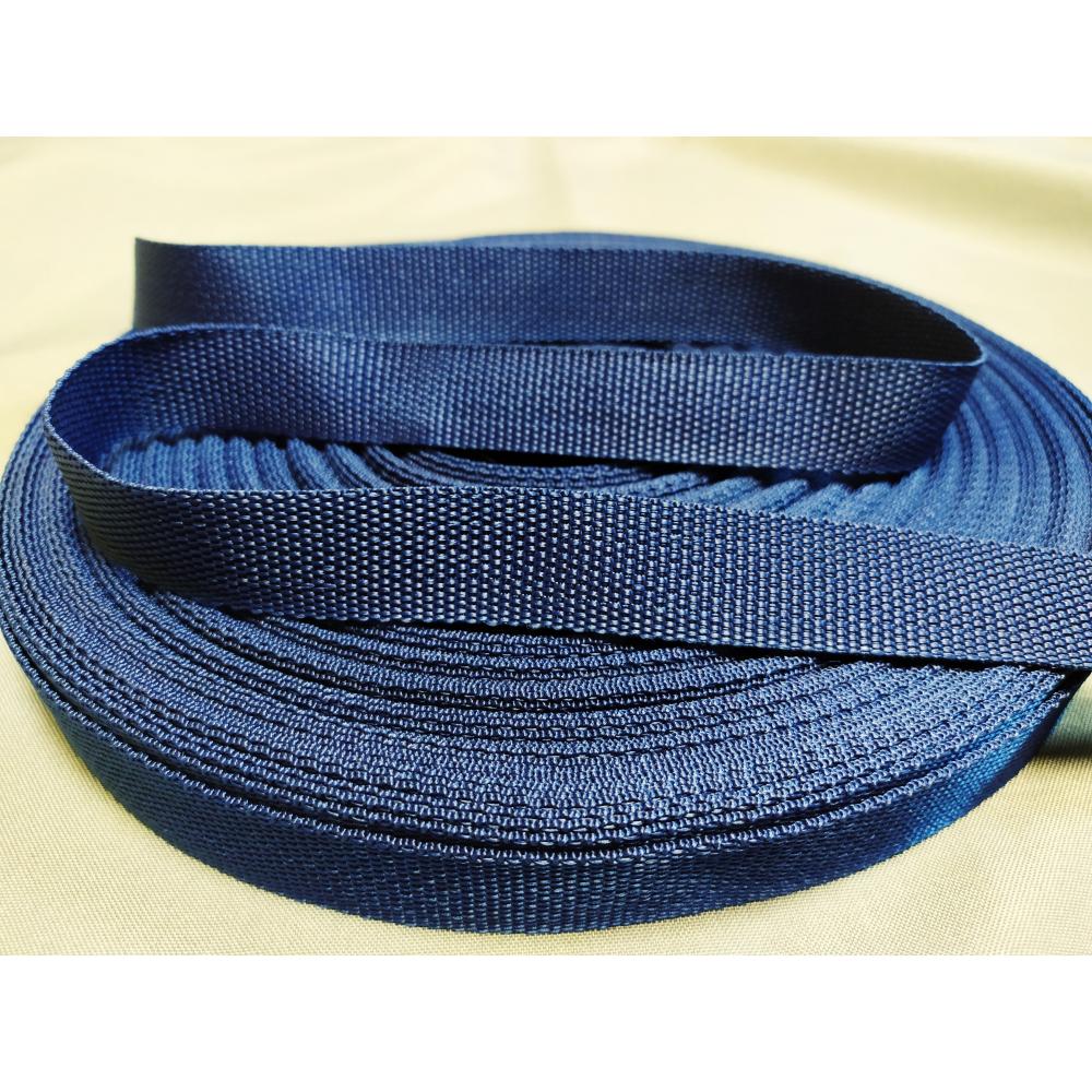 Купить Ременная лента эбис 25 мм, 50 м, синий кобальт 72467