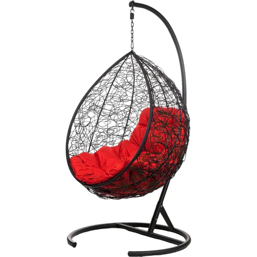 Купить Подвесное кресло bigarden, красная подушка, tropicablackr