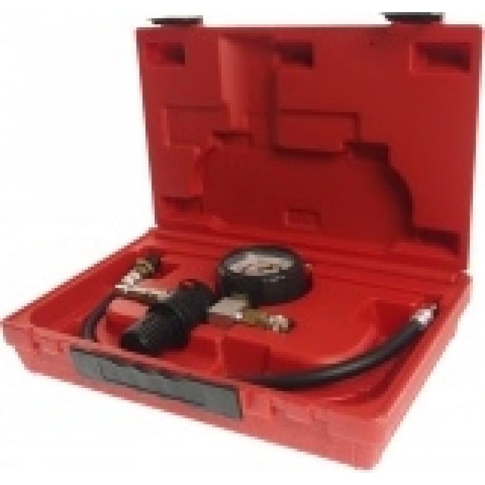 Набор для выявления утечек в цилиндрах с одним манометром jtc диапазон измерений 0-100psi 0-700кпа jw0011
