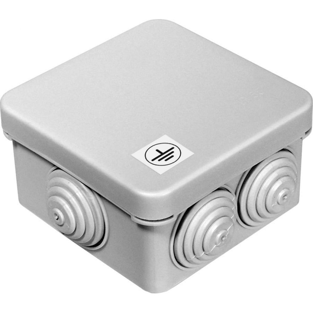Купить Коробка уравнивания потенциалов для открытой установки промрукав 70х70х40 40-0200-у