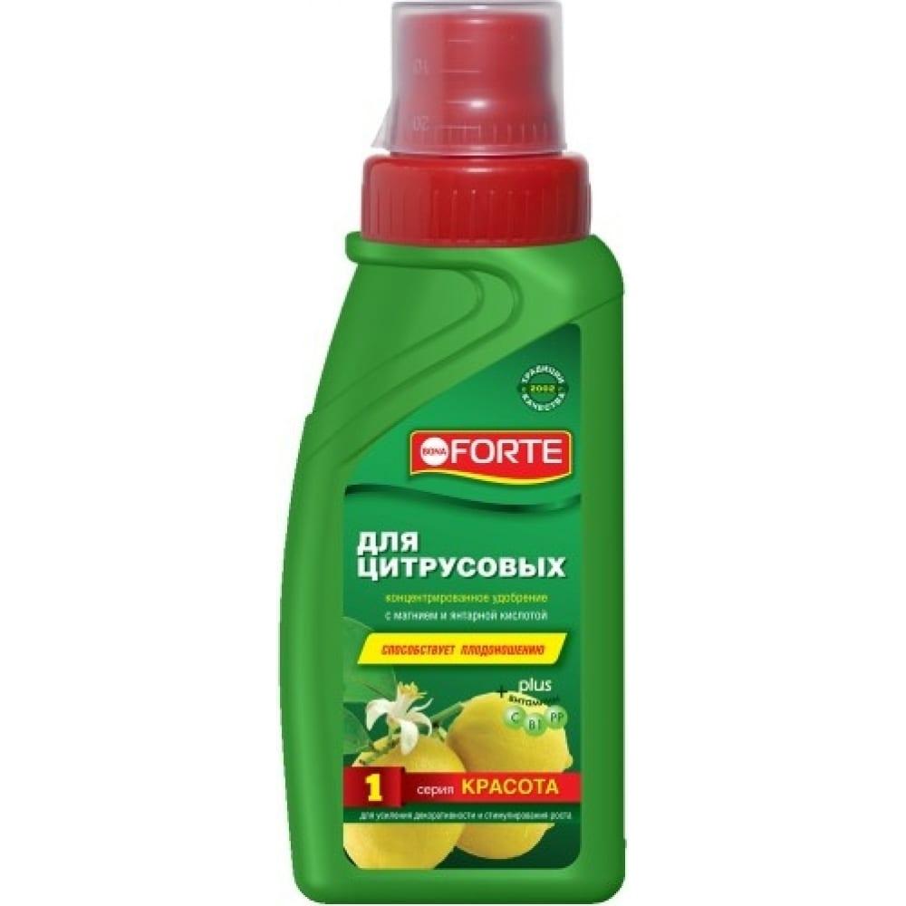 Удобрение для цитрусовых bona forte красота, 285 мл bf21010241