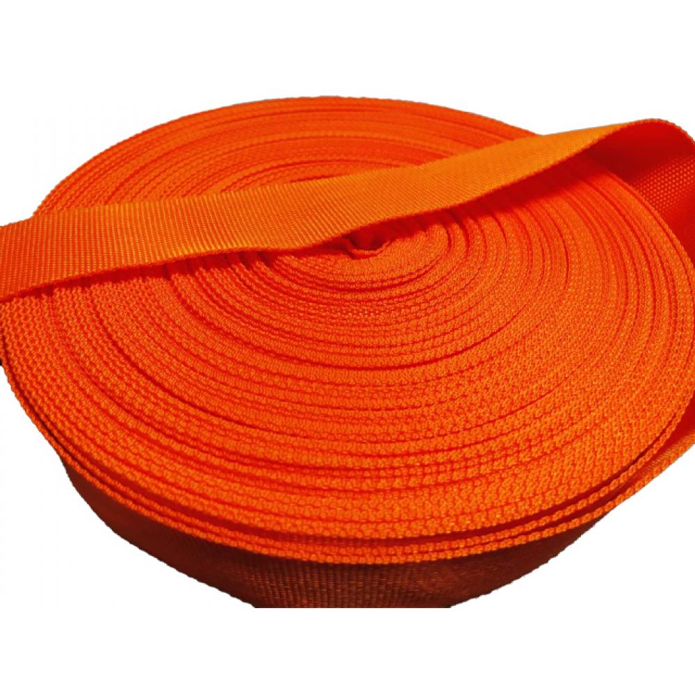 Ременная лента эбис 50 мм 50 м апельсин 227  - купить со скидкой