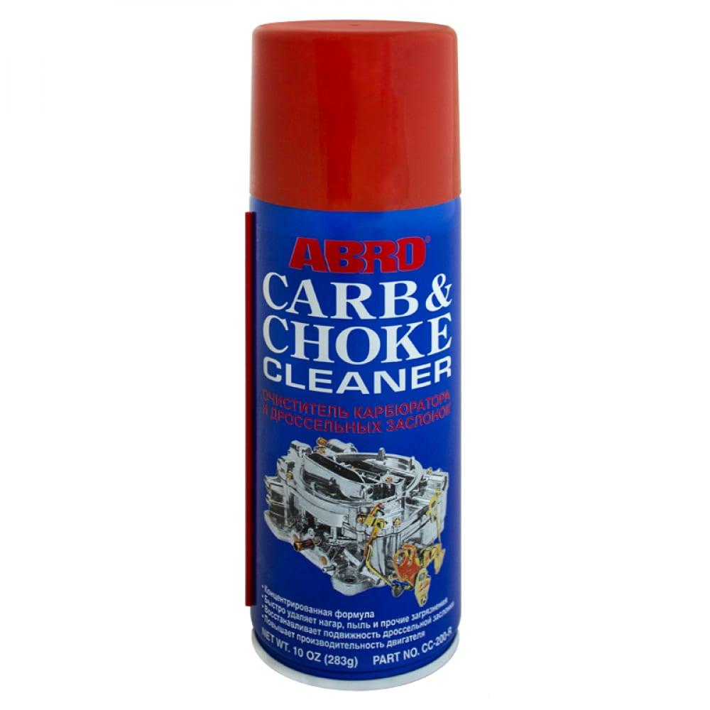 Очиститель карбюратора спрей abro cc 200 283г
