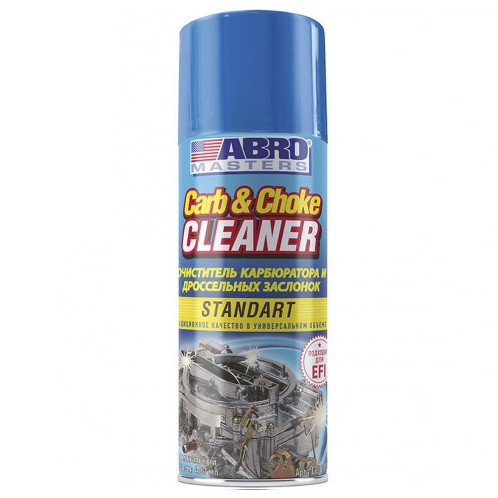 Очиститель карбюратора спрей abro cc 100 283г