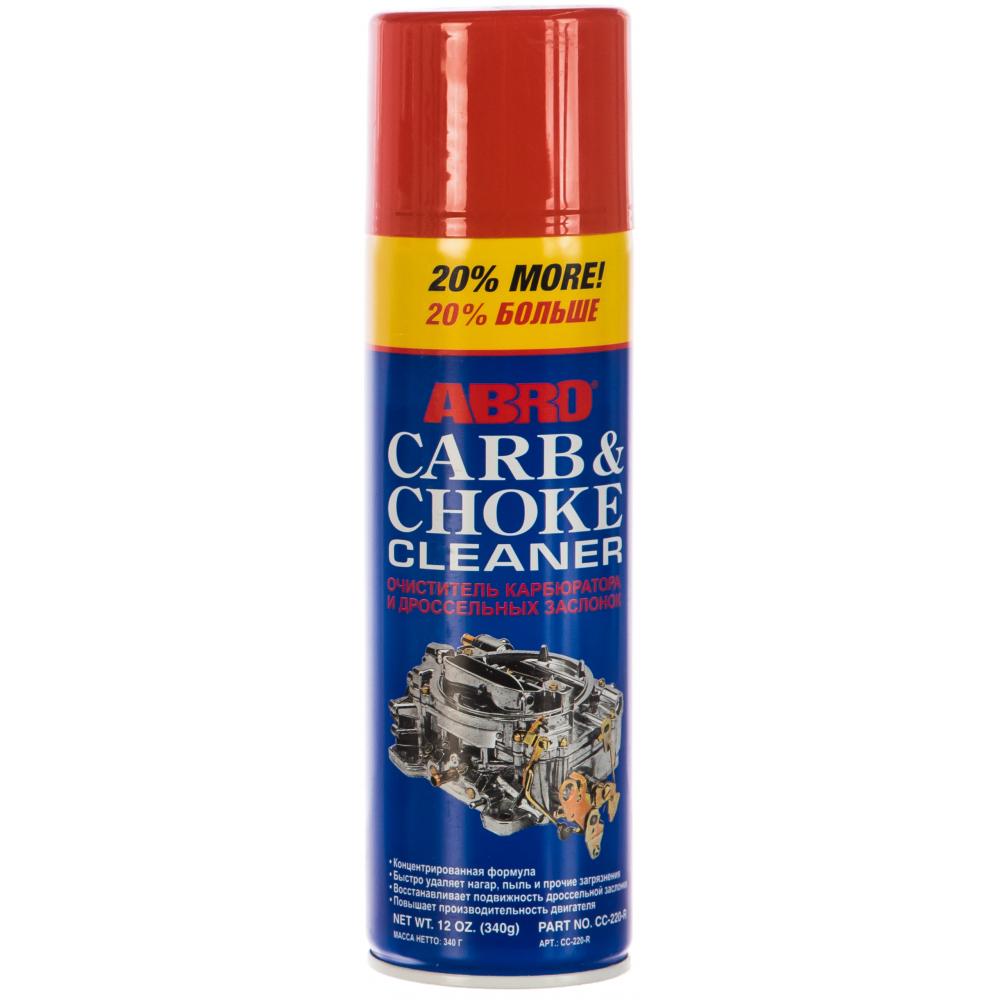 Очиститель карбюратора спрей abro cc 220 340г