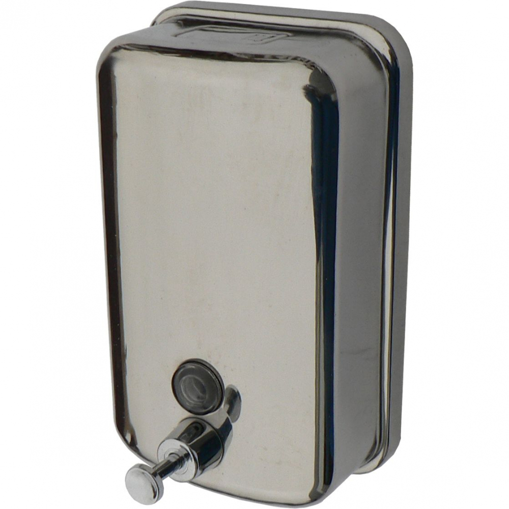 Купить Дозатор для жидкого мыла из нержавеющей стали solinne tm804, полированный, 1000 мл 2512.042