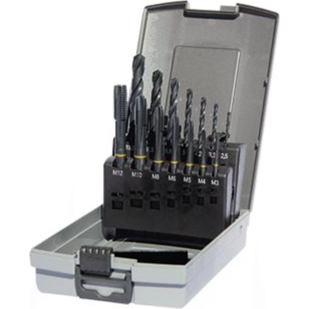 Набор метчиков и сверл guhring powertap 5696