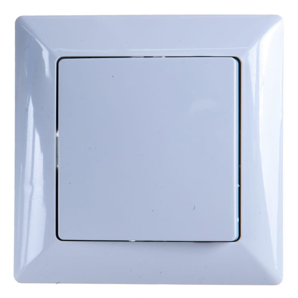 Купить Выключатель intro 410101 10а, 250в, су, solo, белый б0043263