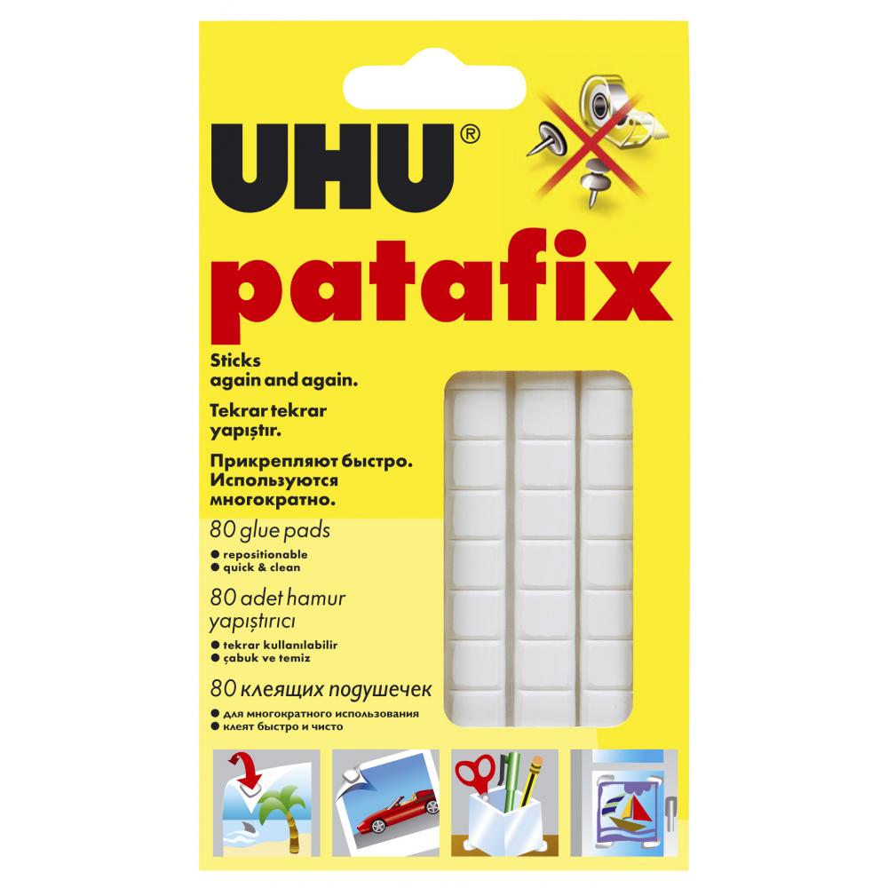 Клеевые подушечки белые patafix 80 шт.