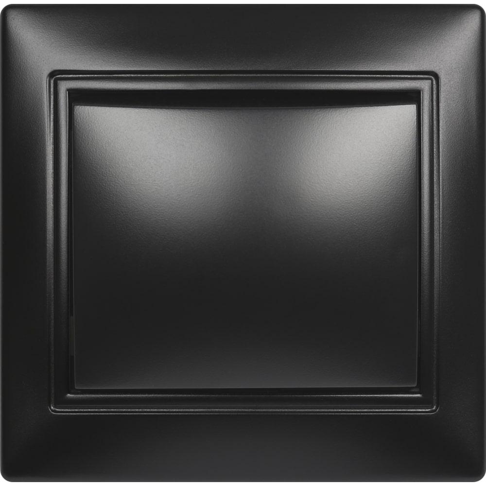 Купить Выключатель smartbuy 1-клавишный 10а черный, венера sbe-01b-10-sw1-0-c