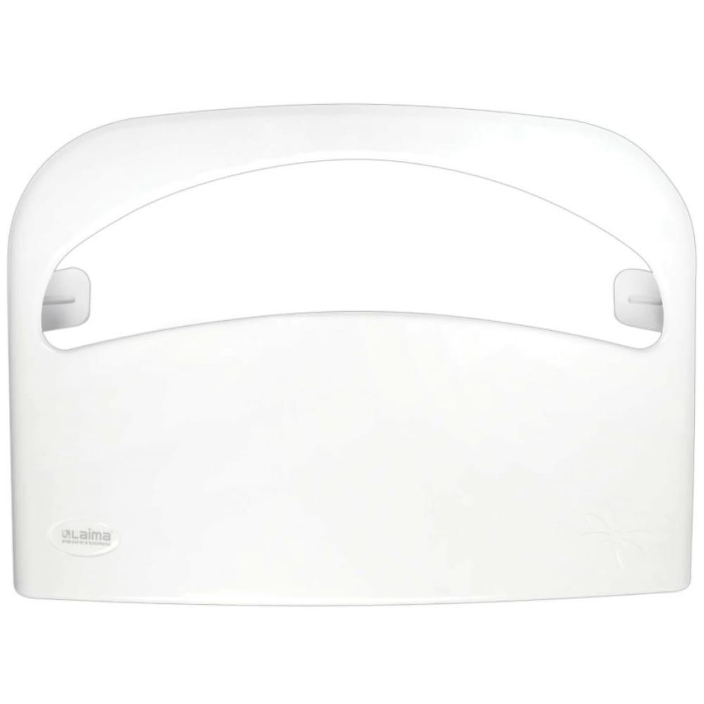 Купить Диспенсер для покрытий на унитаз лайма professional original, 1/2 сложения, белый 605785