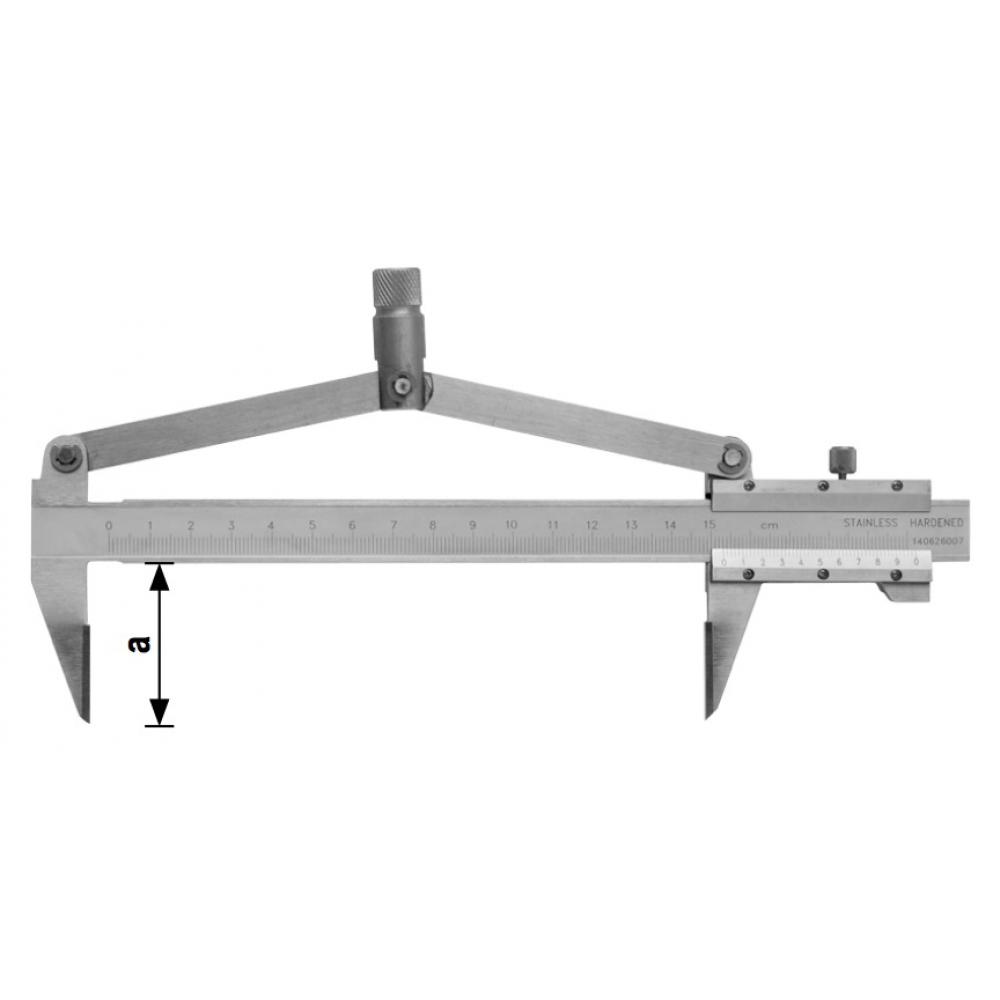 Разметочный штангенциркуль kinex 200/40 мм 6005-15