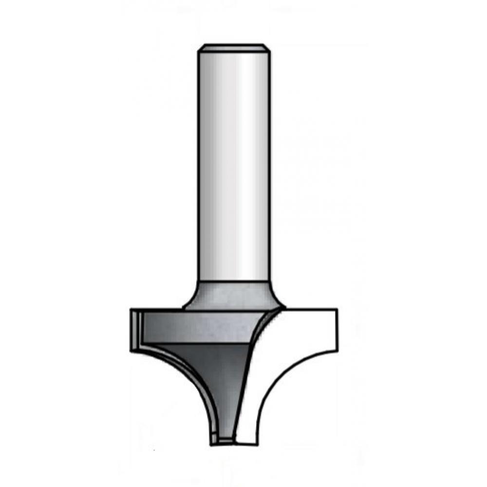 Фреза радиусная врезная (r 9.5 мм,