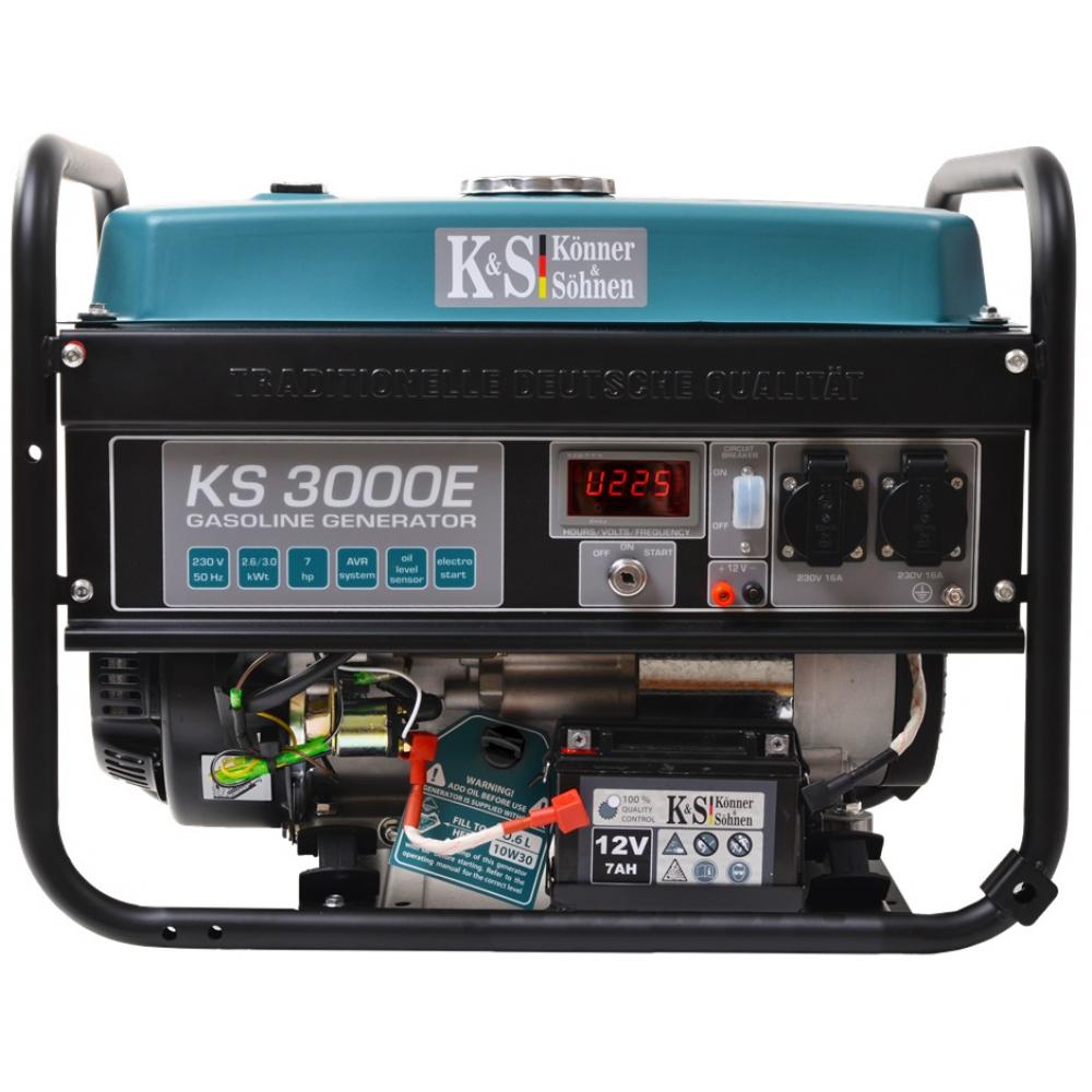 Бензиновый генератор konnersohnen ks 3000e.