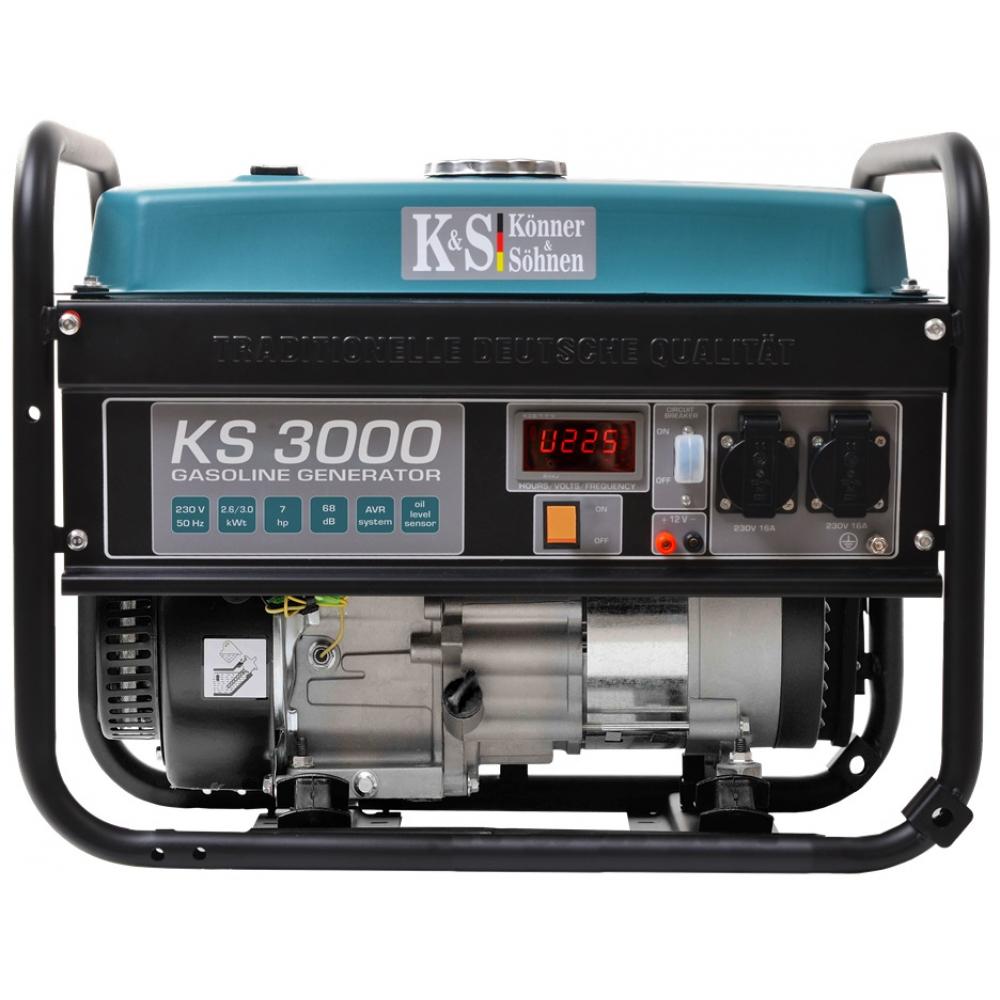 Бензиновый генератор konnersohnen ks 3000.