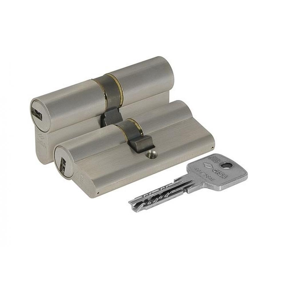 Купить Цилиндровый механизм cisa astral оа310-23.12 100 мм/45+10+45, никель 10168