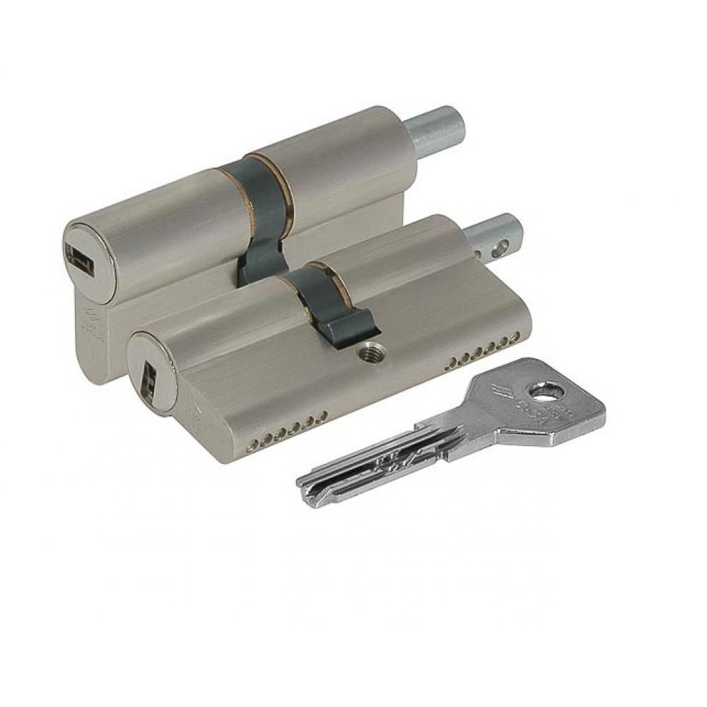 Купить Цилиндровый механизм под вертушку cisa asix oe302-43.12 100 мм/40+10+50, никель 19763