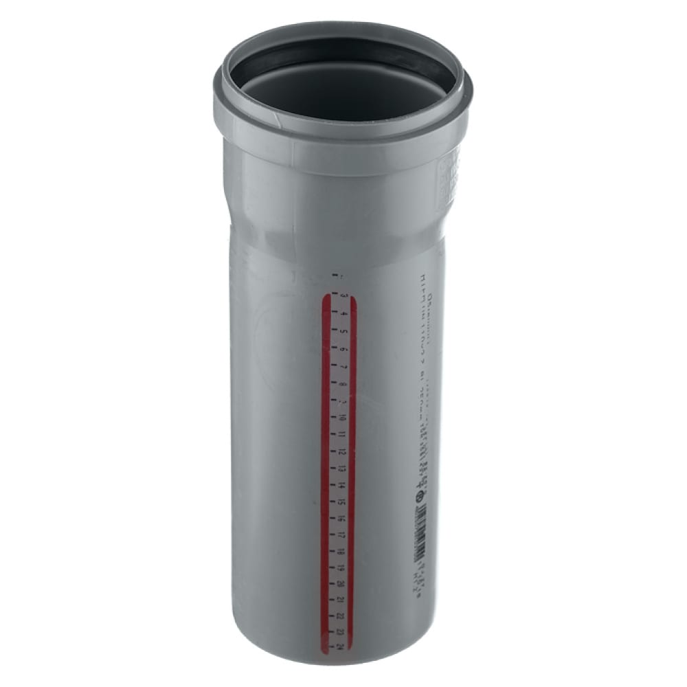 Труба канализационная ostendorf 75х500 мм 113020