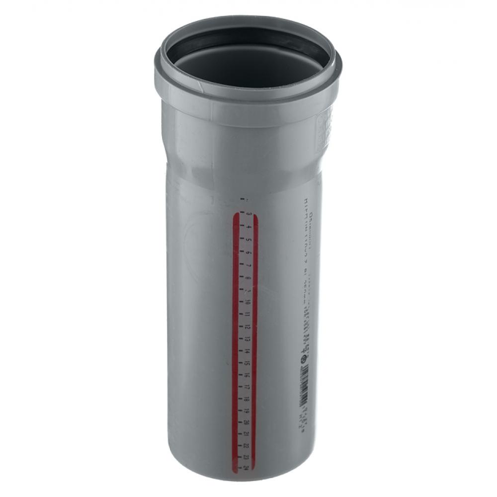 Труба канализационная ostendorf 75х250 мм 113010