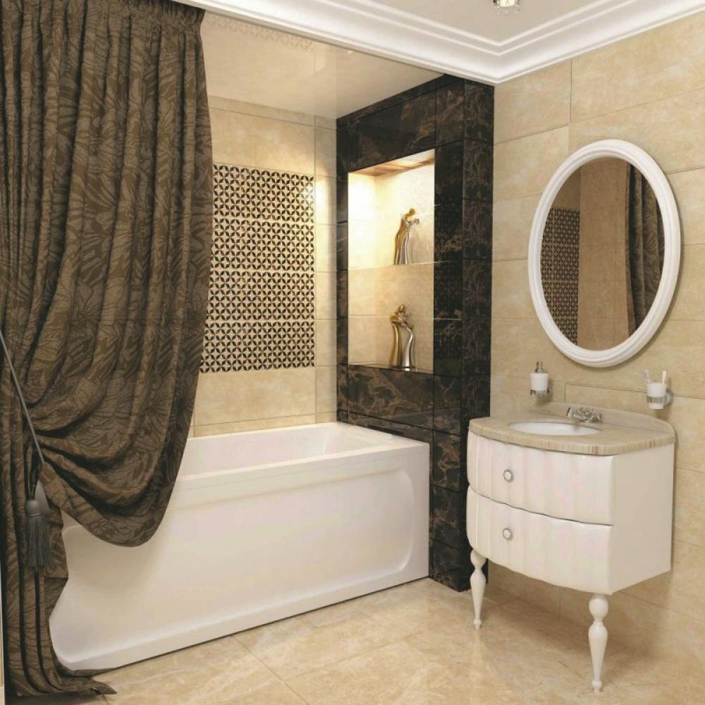 Текстильная штора aima 240x240 мм, коричневый 2000000004204