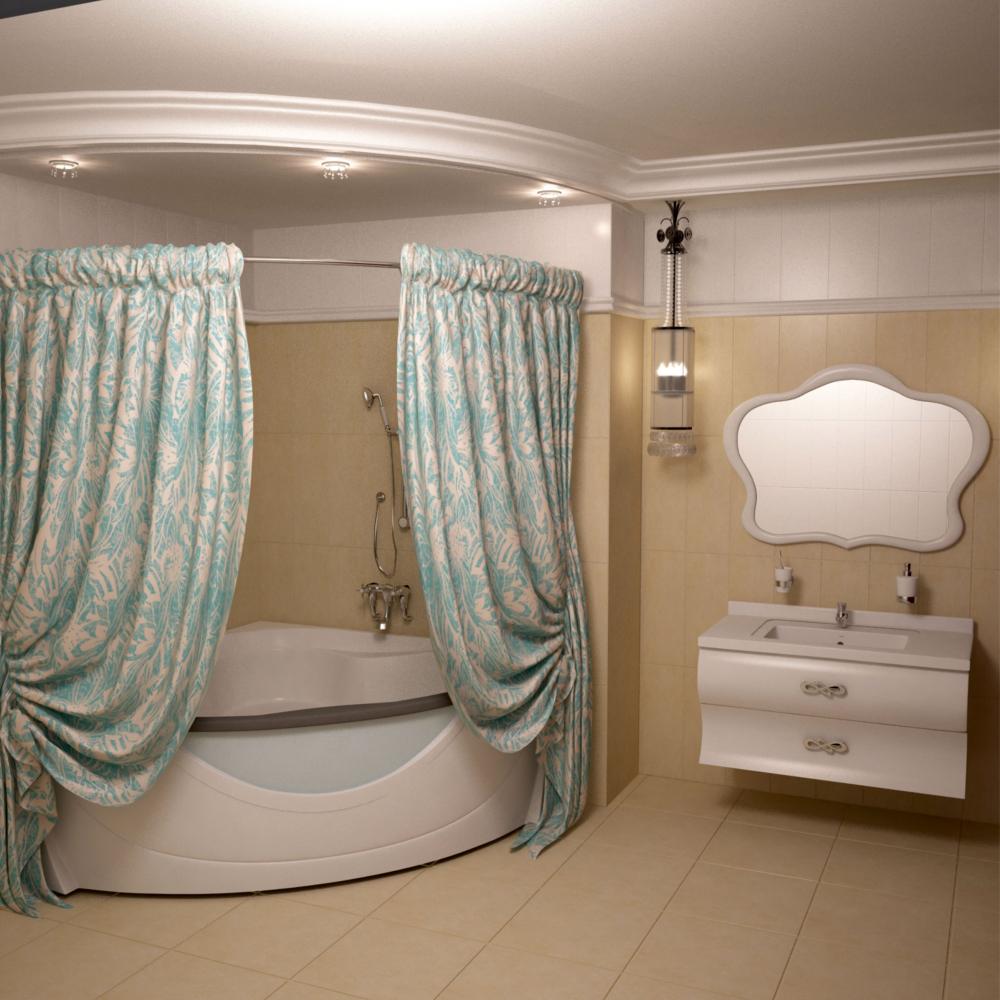 Текстильная штора aima 240x270 мм, бирюзовый 4604613313319