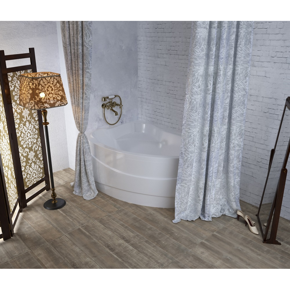 Текстильная штора aima 240x270 мм, белый 4604613313302