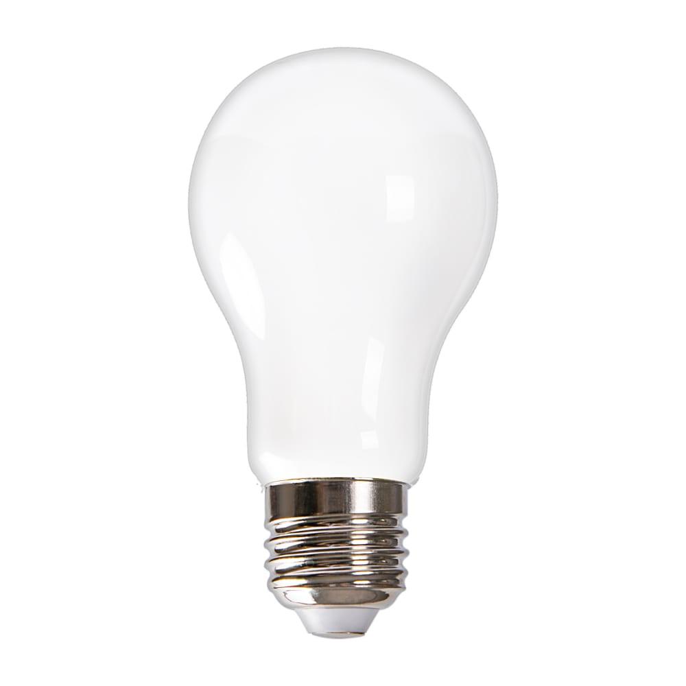Светодиодная лампа uniel led-a60-9w/3000k/e27/fr glh01wh ul-00004841