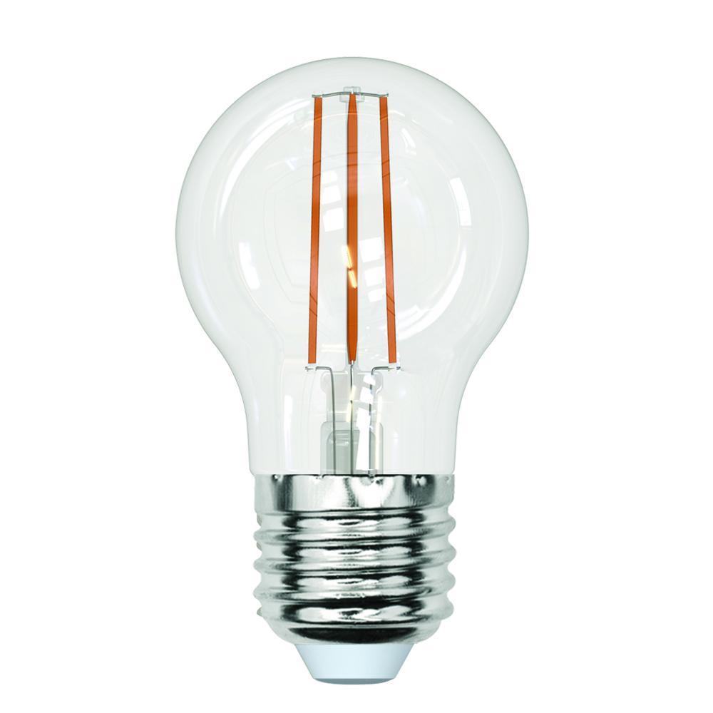 Светодиодная лампа uniel led-g45-13w/3000k/e27/cl pls02wh ul-00005907