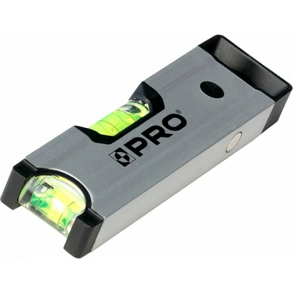 Купить Алюминиевый уровень pro 600, анодированный, с магнитом, 17 см a6-017