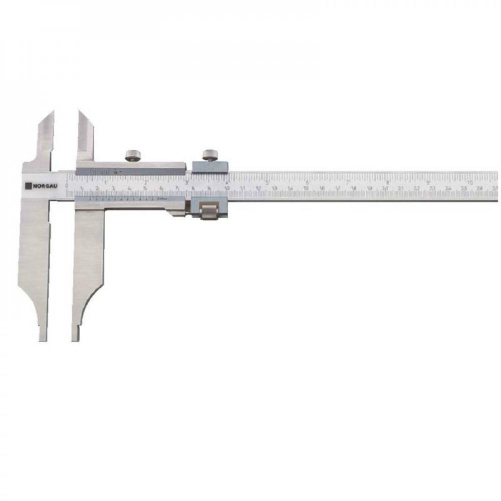 Нониусный цеховой штангенциркуль norgau 0-1500 мм, тип ncv-2, 040005152